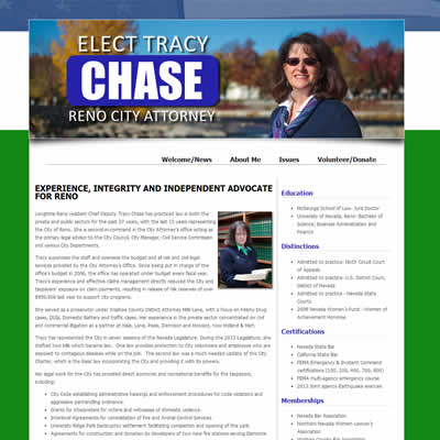 About Me page of chase4reno.com